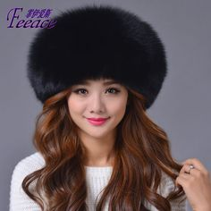 35330a8611d Warm hat. Mongolia female winter Fox Fur Hat. Cap thick fur hats ear warm  hat .Dome fur cap.FPC001-in Skullies   Beanies from Women s Clothing    Accessories ...