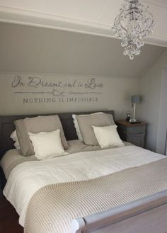Chandelier Over Bed . Chandelier Over Bed . In Dreams and In Love Nothing is Impossible Dream Bedroom, Home Bedroom, Master Bedroom, Bedroom Decor, Bedroom Ideas, Fancy Bedroom Sets, My New Room, Beautiful Bedrooms, Interior Design Living Room