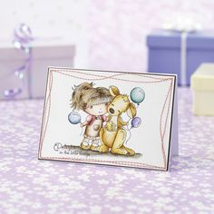 Love our Little Darlings Rubber Stamps project in issue 137 of Papercraft inspirations? Check out this bonus card idea over on our blog! cc @ldrsllc
