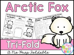 Arctic FoxCLICK BELOW TO CHECK OUT MY GROWING BUNDLE OF TRIFOLDS.  THERE ARE OVER 90 TOPICS!CHECK OUT THE MONEY SAVING GROWING BUNDLECLICK BELOW TO CHECK OUT OTHER TRI-FOLDSNEW YEARS TRI-FOLDPENGUINS TRI-FOLDTri-Folds Can Be Used For Literacy Centers Social Studies Mini Lesson Small Groups Homework Partner Work Research  Individual Work Group Work Tri-Fold Skills Included Vocabulary Writing Reading Passage Comprehension Fluency Art