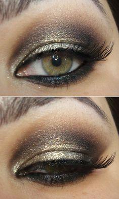 Love this smokey shade of bronze
