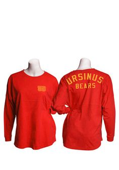 47625ddde UC Bears Womens Gameday Jersey Red LS Tee Michigan Spartans, Pittsburg  State, Reds Game