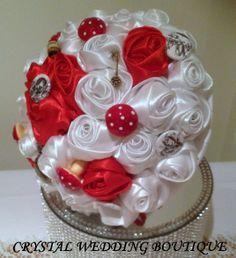 Alice in Wonderland inspired bouquet