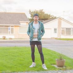 Furthering badly needed change in men's fashion: https://es.pinterest.com/patagoniakid/men-in-mini-skirts/