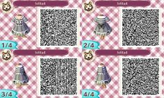 Explore the Animal Crossing New Leaf QR Codes collection - the favourite images chosen by on DeviantArt. Animal Crossing Wiki, Animal Crossing Qr Codes Clothes, Motif Acnl, Ac New Leaf, Kawaii, Cute Pink, Perfect Pink, Hello Everyone, Pink Dress