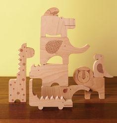Petit Collage-Wooden Toys for Kids- Safari Jumble Puzzle Wooden Toys For Toddlers, Toddler Toys, Kids Toys, Wooden Puzzles, Wooden Blocks, Safari Animals, Animals For Kids, Jumble Puzzle, Animal Puzzle
