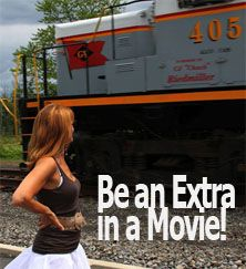4: Be an extra in a movie
