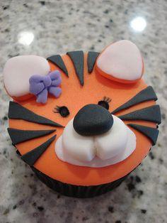 Tigress Cupcake
