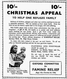 Oxfam. 24 December, 1951