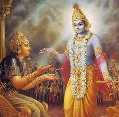 Het hart als een zintuig - Krishna and Arjuna