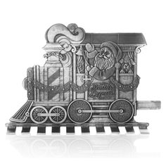 Wendell August  Santa's Express Engine Figure