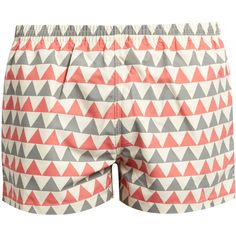 Timo Edition swim shorts (€71) ❤ liked on Polyvore featuring men's fashion, men's clothing, men's swimwear and swim trunks