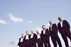 posing the bridal party, posing groomsmen, wedding photography