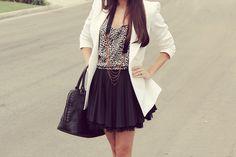 that skirt & blazer