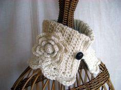 中長編み - Hand made Aiza/手作り日記 Winter Warmers, Neck Collar, Blog Entry, Winter Outfits, Crochet Patterns, Crochet Hats, Knitting, How To Make, Handmade