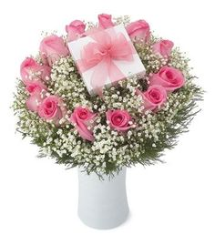 Schön Surprise Flower Arrangement   Chocolates Or Special Enclosed Gift.