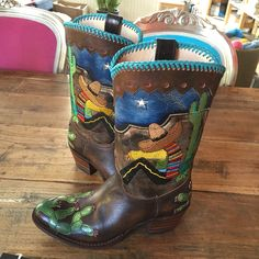 In love with my new Sendra boots! Cowboy Boots, Shoe Bag, My Love, Bags, Shoes, Fashion, My Boo, Handbags, Moda