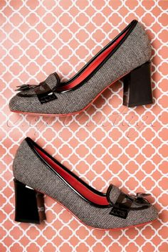Dancing Days By Banned Black Tweed Lust for Life Shoes 400 14 19265 08112016 040W