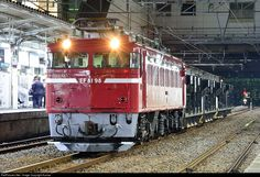 RailPictures.Net Photo: JRE 98 JR East (Japan) JNR EF81 at Mito, Japan by Kumao