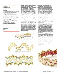 PASSEMENTERIE Bangle - FREE Tutorial by Alice Coelho. Page 2 of 3