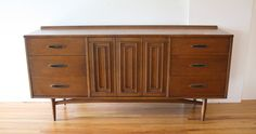 Lover and picker of all things vintage. Danish Modern, Mid-century Modern, Low Dresser, Credenza, Antique Furniture, Mid Century, Cabinet, Living Room, Retro