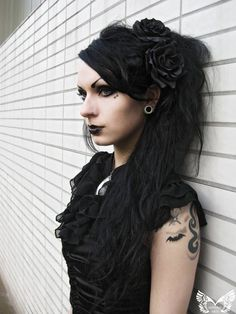 Fabulous 56 Best Gothic Hair Styles Images Hair Styles Hair Gothic Natural Hairstyles Runnerswayorg