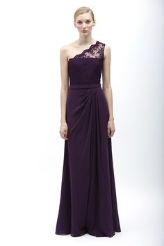 Monique Lhuillier Bridesmaid Dresses, Spring 2014 - Wedding Dresses and Fashion Ideas