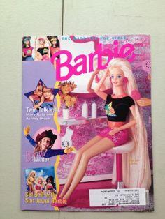 Barbie January February 1994 Magazine Doll Book Mary Kate Ashley Olsen