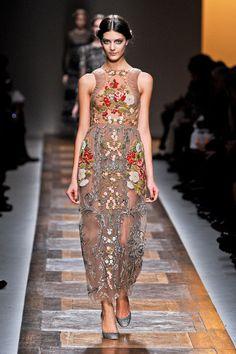Fall Fashion 2012 Trend: The Era: Shakespeare in Love    Valentino