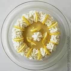 Delightful Repast: Meyer Lemon Cake - Made with Whole Lemons - pairs beautifully with any black tea.