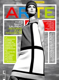 Yves Saint Laurent con diseños de grandes del Arte (Mondrian, Picasso, Man Ray...).