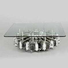 airplane engine coffee table