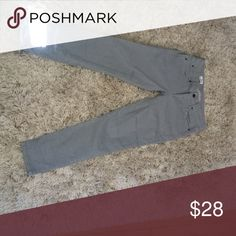 Jeans Gray jeans with a lot of good pairings. GAP Jeans Skinny