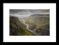 I photographed this image in Iceland at a location called Haifoss. Mountain Photography, Amazing Photography, Landscape Photography, Fine Art Prints, Framed Prints, Art Sites, Custom Framing, Iceland