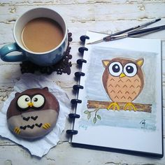 I love coffee, tea, and art, especially drawing and painting, so this is me #myweekofstoryofme , though my skill is level kindergarden, these are what i love.