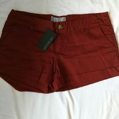 """U.K. Chino's NWT. Cotton chino's from U.K. Lightweight thin chino's. Waist hipster 34"""". Maroon color. Cotton On Shorts"""