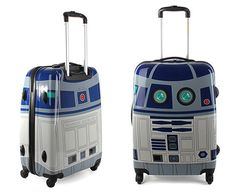 R2-D2 suitcase..perfect for trolling the universe.
