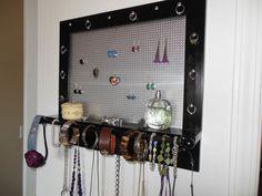 Baxton Studio Black Rotating Tabletop Jewelry Organizer Studios