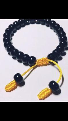 Jewelry Knots, Fabric Jewelry, Beaded Jewelry, Hemp Jewelry, Bead Jewellery, Beaded Necklaces, Jewelry Bracelets, Diy Bracelets With String, Diy Bracelets Easy