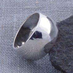 Breiter Ring (10mm) Ehering aus Silber925 von Schmuck-Batih auf DaWanda.com