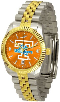 Tennessee Lady Volunteers Men's Executive Watch With AnoChrome Dial