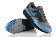 Nike Air Max 1 Hyperfuse Black/Varsity Blue 2011