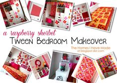 Tween Bedroom Makeover!