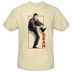 Mr. Bean Tying Shoe T-Shirt