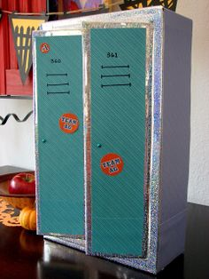 Doll Craft: Making a Set of School Lockers for Your Dolls
