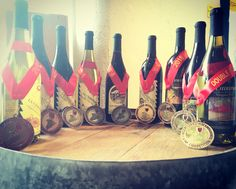 That's a lot of bling!  - Finger Lakes International Wine Competition
