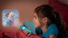 Lámpara Linterna Proyector Infantil LED - Frozen Disney