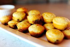 Blueberry Cornbread mini-muffins! http://thepioneerwoman.com/cooking/2011/11/blueberry-cornbread-mini-muffins/