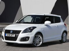 The Suzuki Swift Sport is the cheapest car on our list at under £14,000