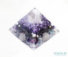 特大オルゴナイトピラミッド~~♪|ATLANTIAN ART~天然石アクセサリー・点画・オルゴナイト